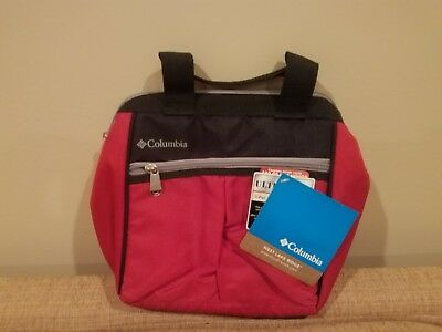 Columbia West Lake Ridge Insulated Lunch Box Tote Bag Carrier RED