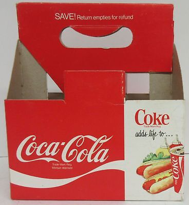 Coca-Cola Coke adds life to… Cardboard Bottle Carrier Carton