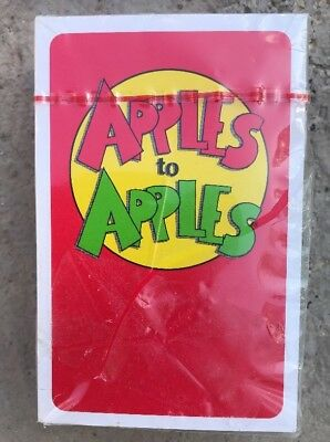 New In Package Apples To Apples Deck Of Educational Cards For Kids