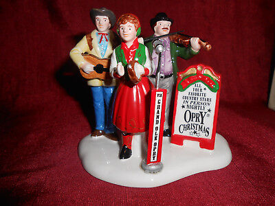 Department  Dept 56 Christmas Snow Village Grand Ole Opry Carolers figures