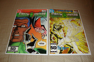 Green Lantern #190-191 (1985) DC Comic Lot Of 2 VF Condition