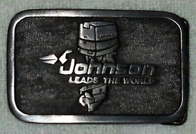 Vintage 1970/80's Johnson Outboard Marine Belt Buckle