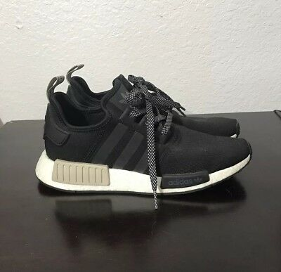 e0bc8aa67b6f ADIDAS NMD R1 Black Tan Mens 8 Womens 10 -  155.00