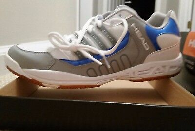 NEW Head Mens Indoor Court Shoes/Sneakers Badminton/Squash/Volleyball Size 13/47