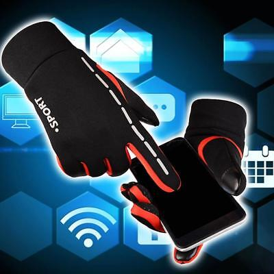 Horse Riding Bicycle Bike Gloves Adults Kids Equestrian Thickened Phone Touching