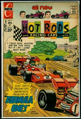Charlton Comics HOT RODS And Racing Cars #119 FN+ 6.5
