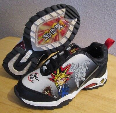 RARE VTG 1996 Yugioh Yu-Gi-Oh! King of Games Lets Duel Kids Youth Shoes size 11