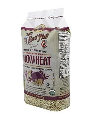 Bob's Red Mill Organic Gluten Free Buckwheat Groats, 16 Ounce (Pack of 4)