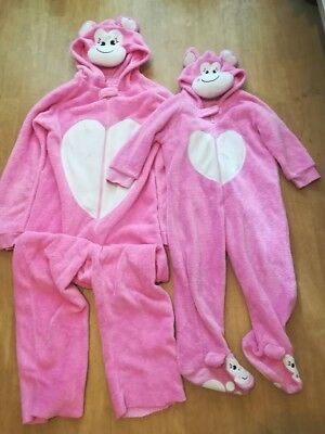 girls all one piece suit (5-6 y.o) with mommy all in one piece suit (size 10-12)