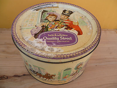 Vintage Old Large Size Toffee, Chocolate Tin