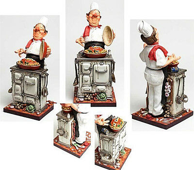 The Master Chef Sculpture by Guillermo Forchino ~ Hand Made Detailed & Painted