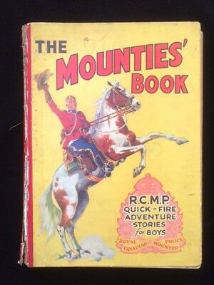 The Mounties' book for Boys D C Thomson & Co Ltd
