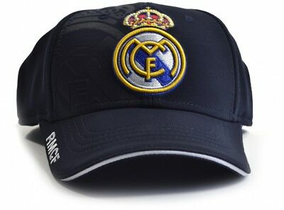 ca965b24ae7 Real Madrid Cap Baseball Hat Crest Fan Fun Gift NV New Official Licensed  Product