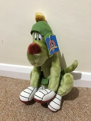 Marvin The Martian Dog Plush Doll Figure Looney Tunes Ace K-9 Green Toy