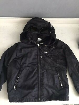 Boys Cp Company Jacket Coat Junior Age 5-6 Stone Island