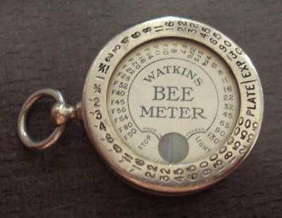 c.1890 WATKINS BEE METER, CAMERA LIGHT METER, IN GOOD CONDITION,HEREFORD  G7