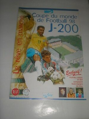 football futbal WORLD CUP 98 COUPE DU MONDE