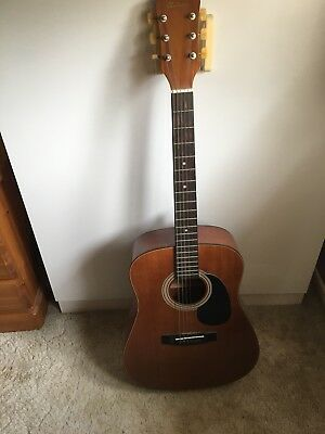 Antoria Harmony H6830 Acoustic Dreadnought Guitar 6 Steel Strings Strung