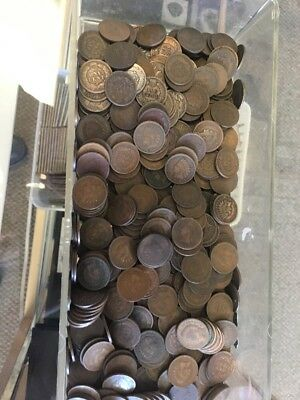 Indian Head Cent  Roll (50 Coins) mixed Dates - Nice Coins - Free Shipping