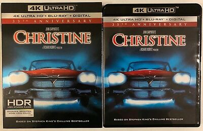 Christine 35Th Anniversary 4K Ultra Hd Blu Ray 2 Disc Set + Slipcover Sleeve Buy
