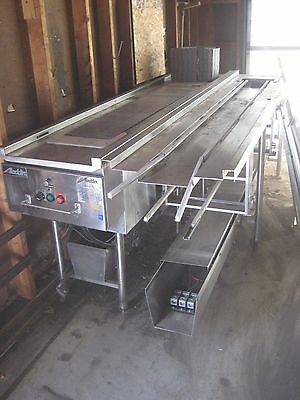 Aladdin CONVEYOR Food Service TWO 8' Sections -STAINLESS STEEL 3 Phase Motor