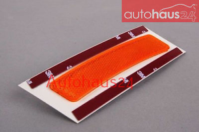 Genuine OEM Front Driver Left Bumper Cover Reflector Yellow For BMW E70 X5 M 2007-2013 AWD