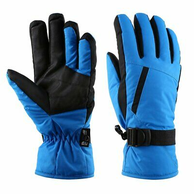 Waterproof Thinsulate Winter Sports Cycling Men Warm Ski Snow Snowboard Gloves @