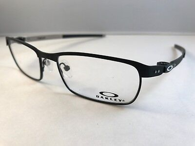 New Authentic Oakley Eyeglasses OX 3184 0154 tincup powder coal 54mm w pouch