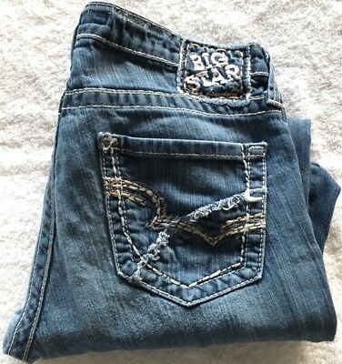 8769a9982c3 BUCKLE BIG STAR Maddie Mid Rise Boot Stretch Jeans Size 32R - $26.00 ...