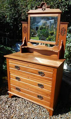 Original  Victorian  Dressing  Chest / Table