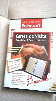 Informatique Vintage Pack Cartes De Visite PC CD ROM
