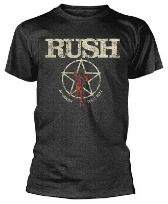 Rush 'American Tour 1977' T-Shirt - NEW & OFFICIAL!