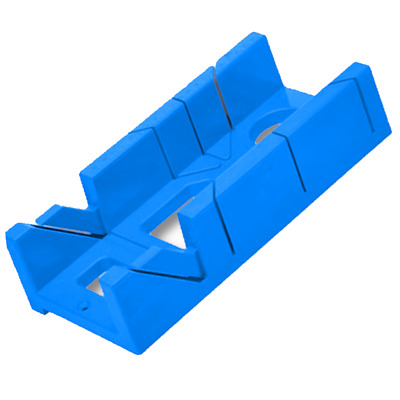"""100mm 4"""" Mitre Block/Box for Cutting Coving & Skirting Boards"""