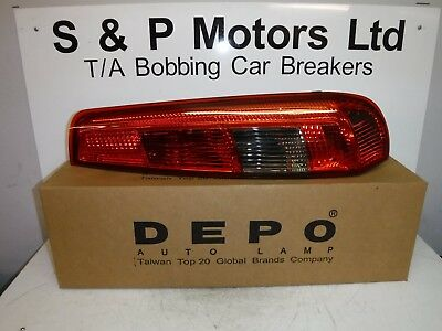 Ford Fiesta Mk6 02-05 3dr Depo OS Rear Light 4311953RRDUE