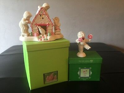 Snowbabies 'A Gingerbread Christmas' & 'As sweet As Can Be""