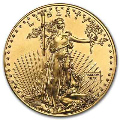 1 oz Gold American Eagle BU (Random Year) - SKU #1