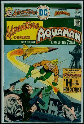 DC Comics ADVENTURE Comics #442 AQUAMAN VG/FN 5.0