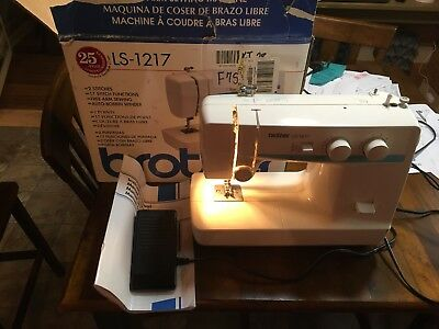 BROTHER LS40 SEWING Machine 4040 PicClick Stunning Sewing Machine Brother Ls 1217