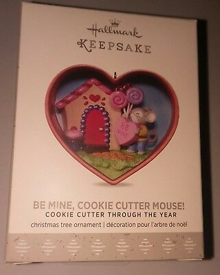 2017 Hallmark Keepsake Ornament Be Mine, Cookie Cutter Mouse! Through the Year