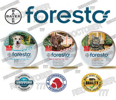 Foresto Seresto collar for small cats, dogs and kittens from ticks and fleas