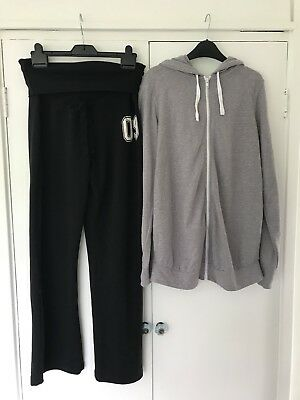 New Look Maternity Tracksuit Bottoms And Hoodie