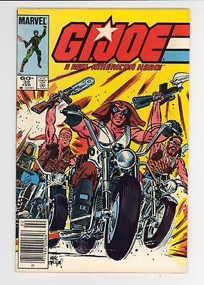 G.I. Joe A Real American Hero (1982) #32 F/VF 7.0