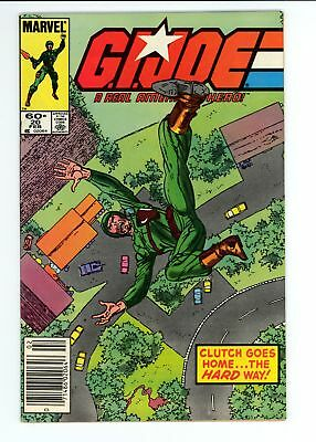 G.I. Joe A Real American Hero (1982) #20 VF 8.0
