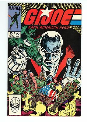 G.I. Joe A Real American Hero (1982) #22 VF- 7.5
