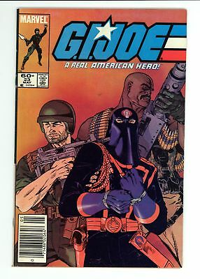 G.I. Joe A Real American Hero (1982) #23 VF- 7.5