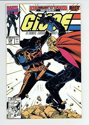 G.I. Joe A Real American Hero (1982) #118 VF+ 8.5