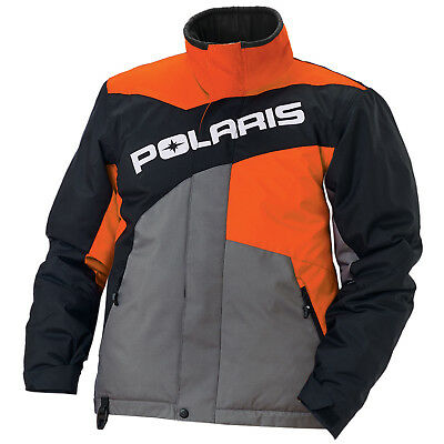 Polaris™ Drifter Orange Men's Winter Insulated Snowmobile Jacket, 2868534XX