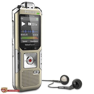 High Quality Voice Recorder Digital 8GB Built In Motion Sensor Gold/Silver New