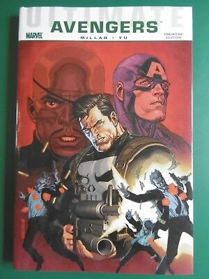 Ultimate Comics Avengers: Crime and Punishment by Mark Millar Hardback Book The