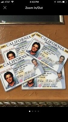 Back to the Future - Marty McFly License - Prop